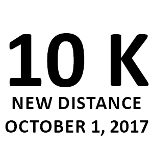 New distance 10 km